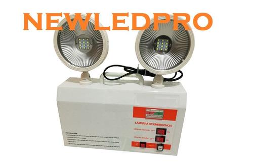 lampara equipo emergencia led alto flujo newledpro
