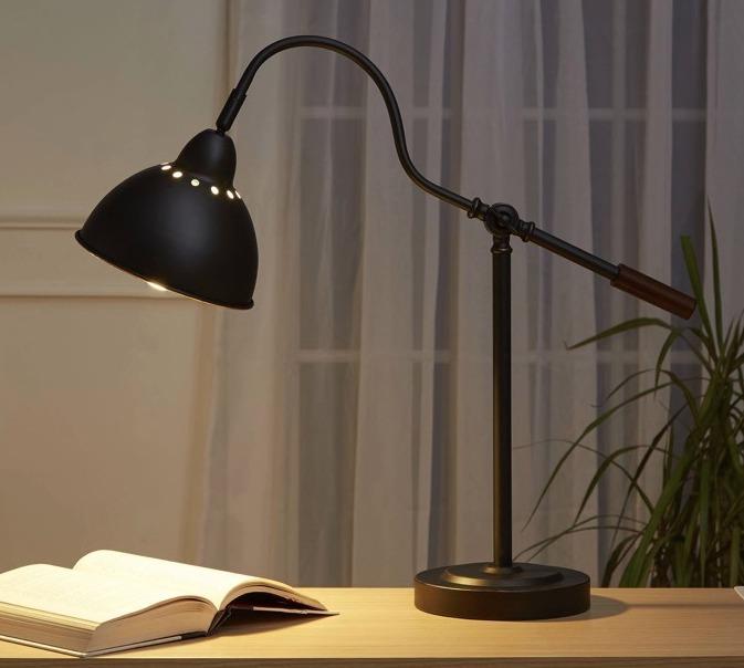 Lampara escritorio con brazo ajustable negra xtreme c 203900 lampara escritorio con brazo ajustable negra xtreme c aloadofball Image collections