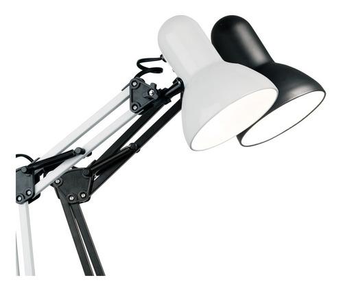 lampara escritorio morza classic doble brazo e27 apto led
