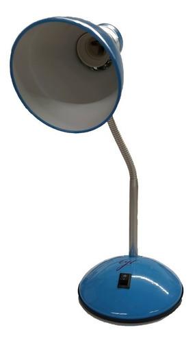lampara escritorio velador mesa flexible hogar oficina e27