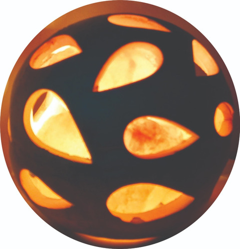 lampara esfera de fuego-piedra de sal del himalaya-mayorista
