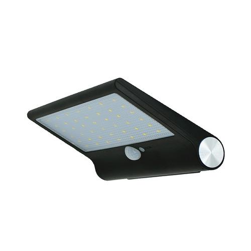 lampara exterior panel solar sensor movimiento 42 led x 5 un