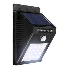 Lampara Farol Solar Foco 30 Led Sensor Movimiento Exterior