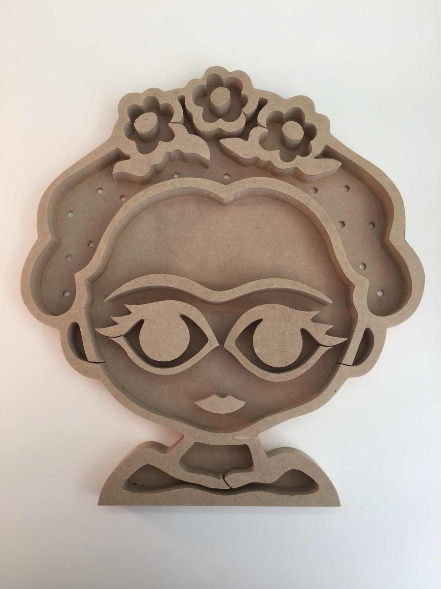 Lámpara Fibrofacil De Frida Kahlo Para Pintar 26000 En