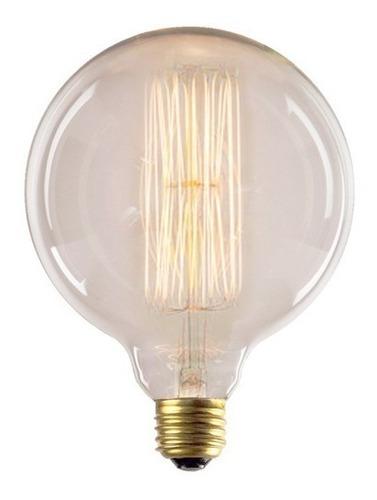 lampara filamento de carbono g125 globo 125mm (grande) g125