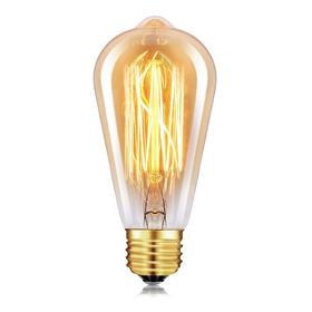 Lámpara Filamento Pera 40w E27 Vintage Retro Edison - Unilux