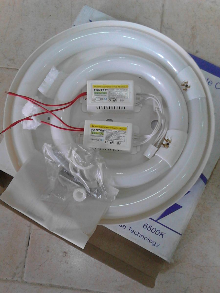 Lampara fluorescente circular bs en mercado libre for Tubo fluorescente circular 32w