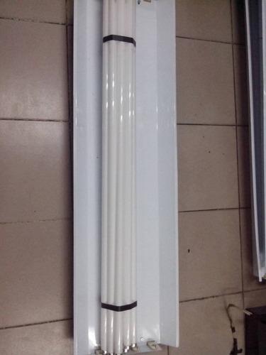lampara fluorescente de 4x40 w