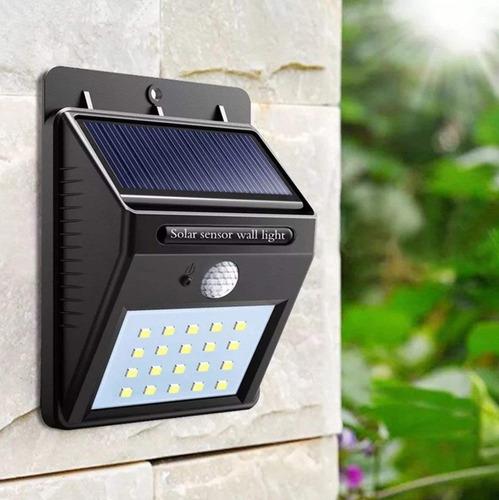 lámpara foco solar panel incluido lampara solar
