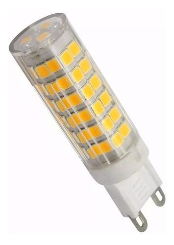 lampara g9 de led 4,5  alta potencia luz calida o fria