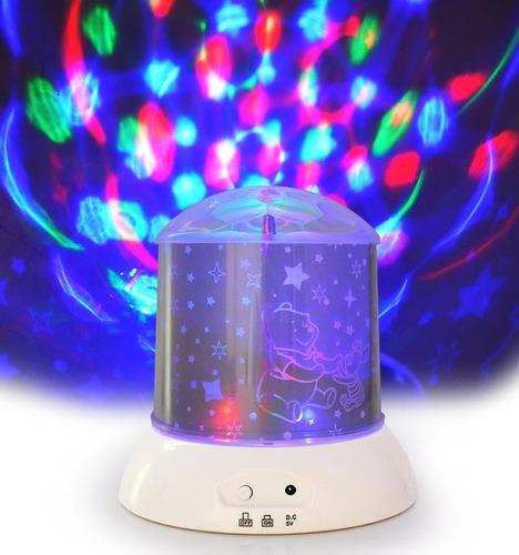 lampara giratoria y proyector de luces - tiendadelivery