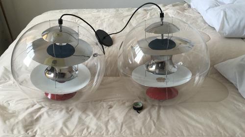 lampara globe verner pantom (knoll vanburen gavina cassina)