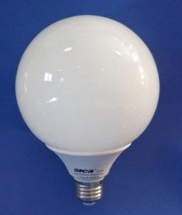 lámpara globo de bajo consumo 21w luz cálida sica
