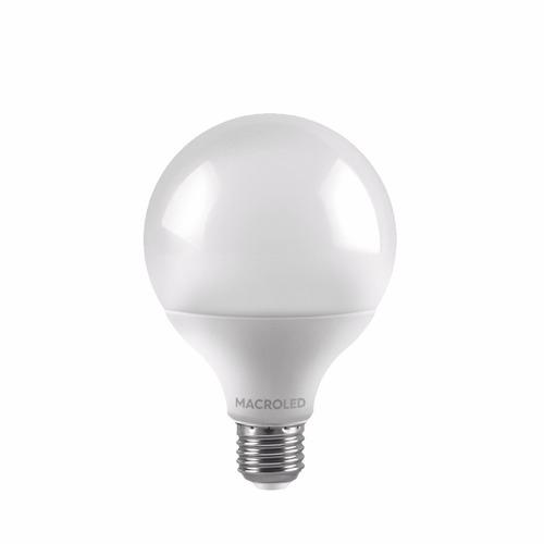 lampara globo led 14w g95 e27 cálido frio gtia 220v
