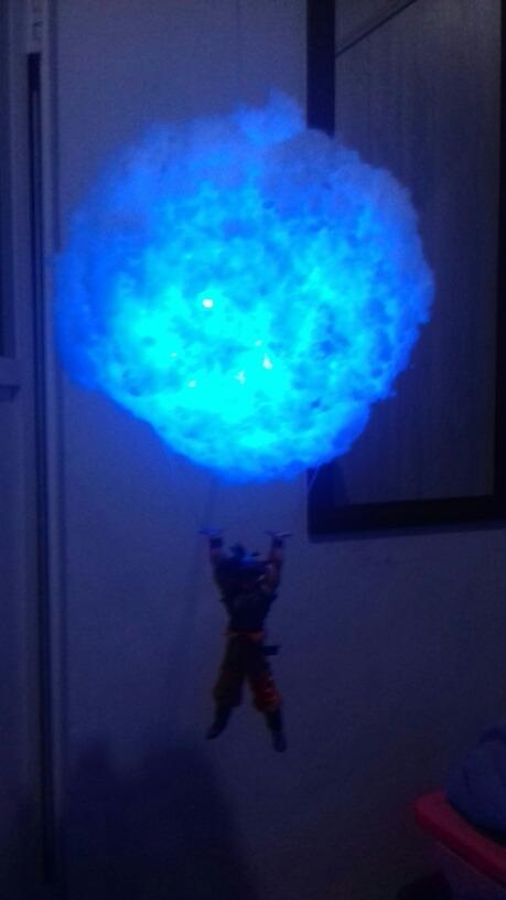 Genkidama Gratis Premium Envio Goku Lampara DHW2IE9