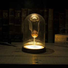 Lampara Golden Snitch En Domo De Harry Potter Usb Original