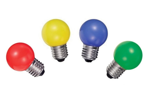 lampara gota color incandescente, ideal guirnaldas