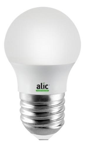 lámpara gota eco led 5w luz fria dia e27 5w = 40w alic 370lm