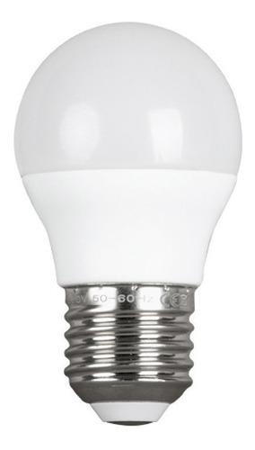 lampara gota led 6w e27 luz fría 6500k - glowlux - e. a.