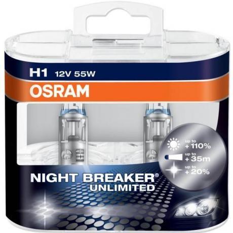 lampara h1 osram night breaker unlimited 12v 55w germany