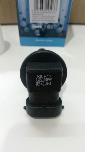lampara h11 halogena 55w faros auxiliares