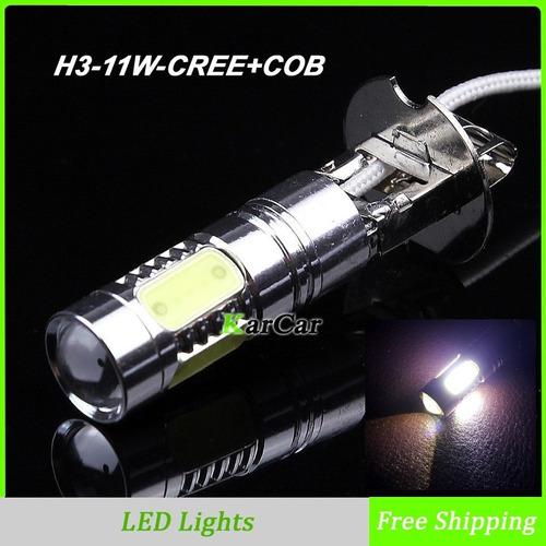 lampara h3 led cree lampara led auto h3 caminero juego