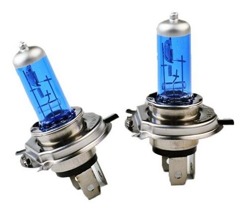 lampara h4 efecto xenon corta y larga oferta jgo. x 2 unid.