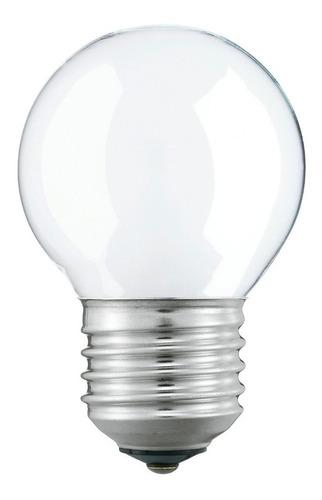 lámpara halogena gota 42w opal argenta e27 interelec