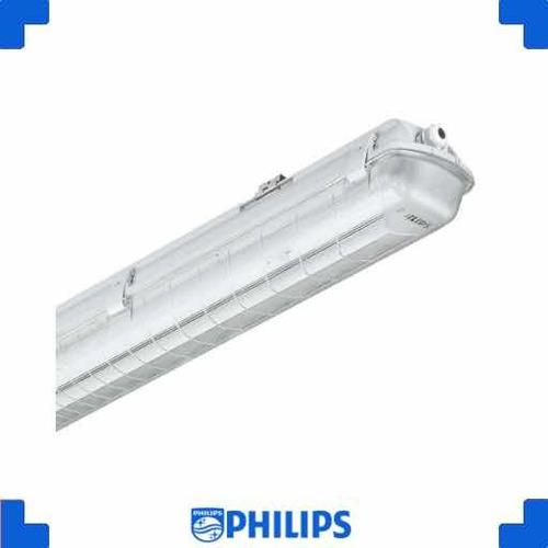 lámpara hermética led 2x18 philips original
