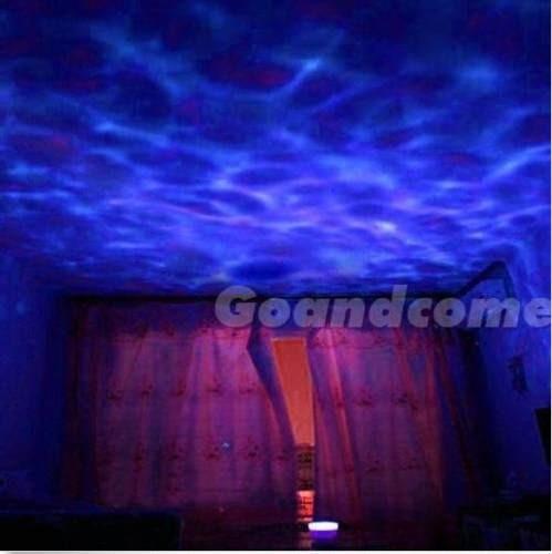 lampara holograma fondo del mar relajante