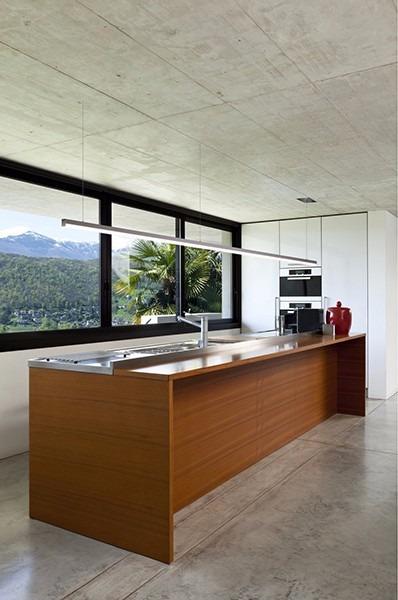 Lámpara iluminación led colgante techo mesada/oficina/cocina ...