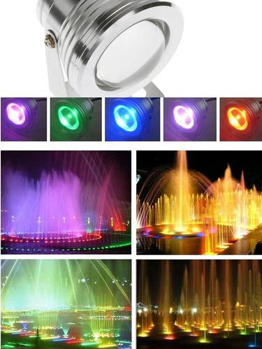 lampara iluminacion para jacuzzi/fuentes/piscinas multicolor