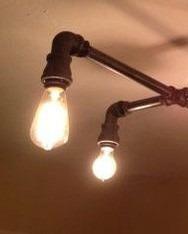 lámpara industrial de techo galvanizada varsovia