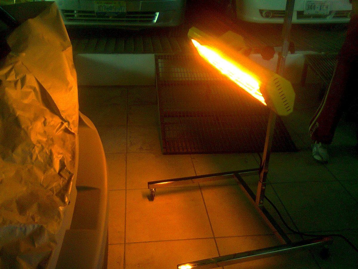 Venta de separadores de pintura infrarroja