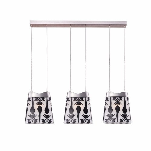 lámpara laiting decorativa kenia mod. mw-5498d-3p colgante