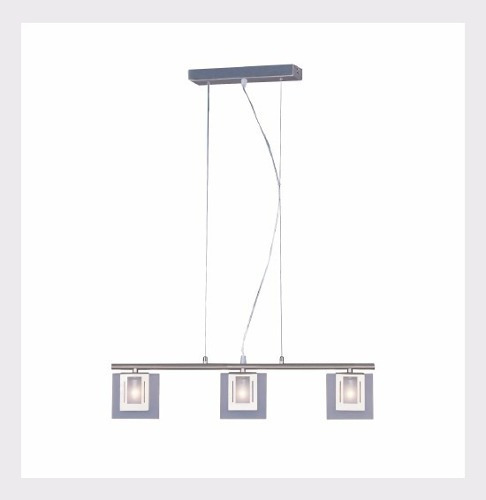 lámpara laiting decorativa square mod. w-8763-1pt candil