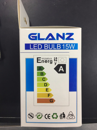 lampara led 15w glanz