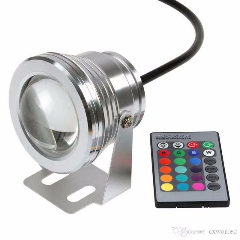 lampara led colores ideal para fuentes jardin hogar