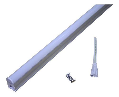 lampara led 18w tubo t8 120cms accesorio cocina tubo y base