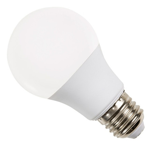 lampara led 220v 10w 9w pack x 10 rosca e27 frio calido casa