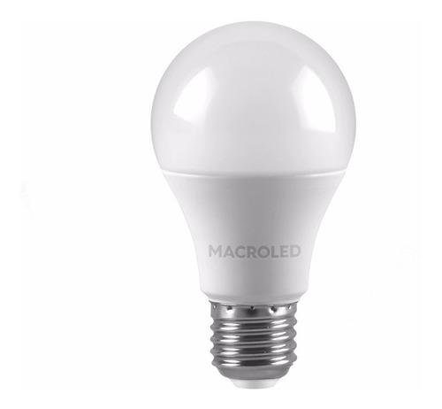 lampara led 220v 12w gtia 2 años neutra 220v e27 macroled