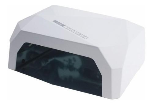 lampara led 36 watts sensor automatica+ 200 cristales uñas