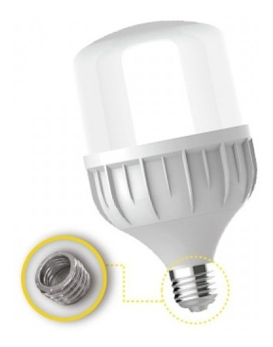 lampara led 40w luz dia e27 interelec 3600 lumen 402798