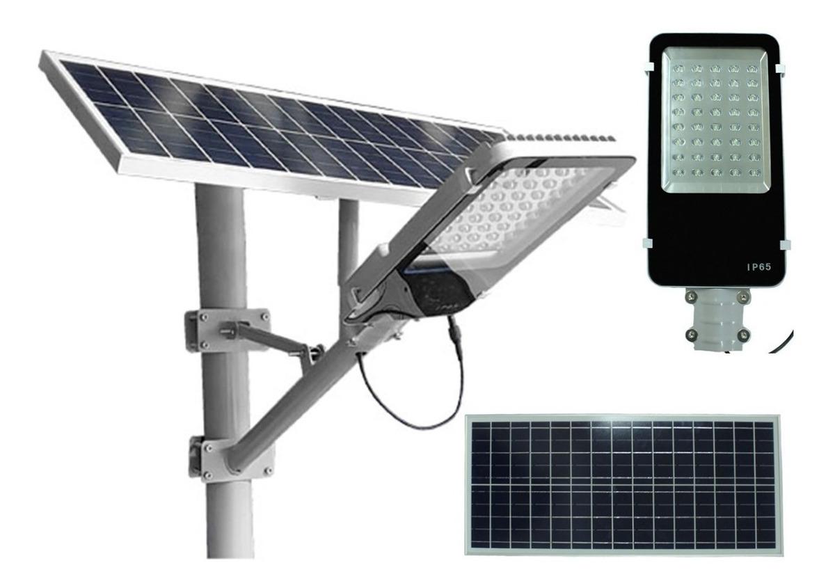 Led Solar 40w Panel Lampara Alumbrado Suburbana Publico SqUzMpV