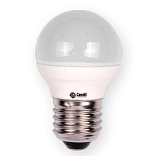 lámpara led 4w gota e27 220v  luz cálida = 40 w candil