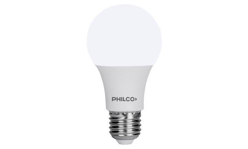 lampara led 9w philco luz calida 60w e27 pintumm