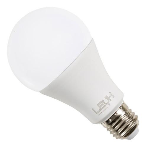 lampara led a60 220v 15w foco luz cálida fria pack 10