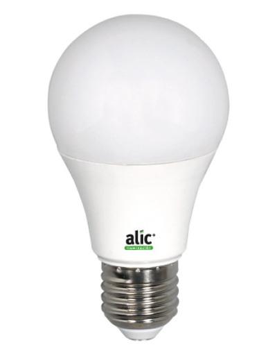 lampara led alic 7w eco luz fria 15.000hs = 50w 12 leds x 10