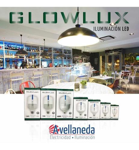 lampara led alta potencia 50w e27 cálida - glowlux - e. a.