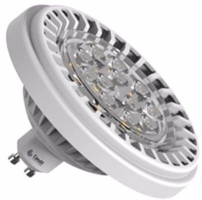 lámpara led ar111 12w  220 v blanco frío gu10 candil esdj